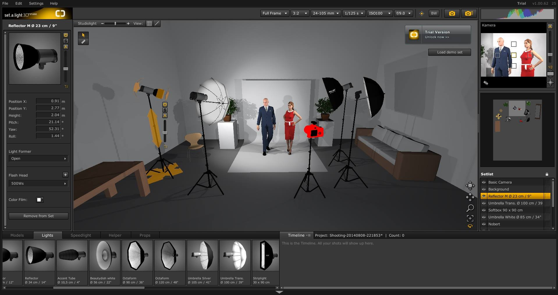 Programa 3d simulador de est dio fotogr fico sobre for Simulador interiores 3d